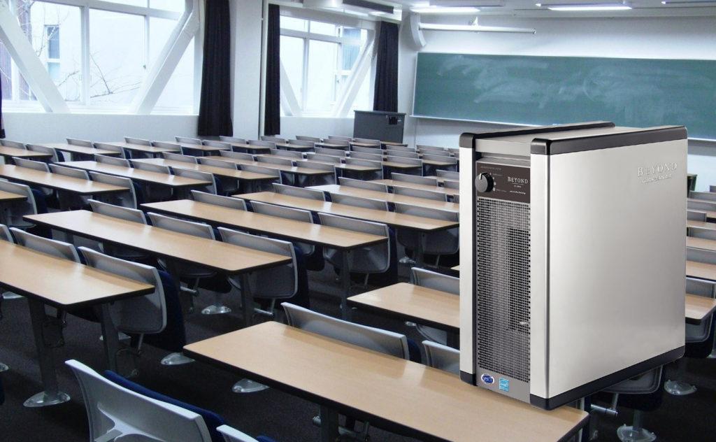 Purificadores de aire para colegios
